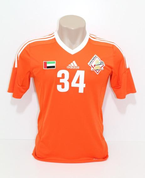 Camisa Original Sharjah 2014 Away #34 K. Alzari