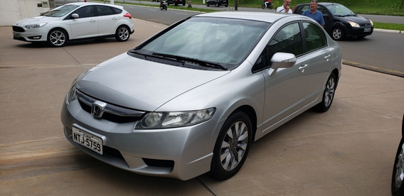 Honda Civic 1.8 Lxl Couro Flex 4p 2010