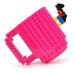 Taza Build On Con Diseño De Bloques De Construccion Lego