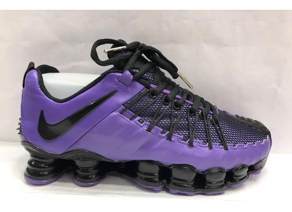 Tenis Nike Shox Tl1 2019 Triple Black 12 Molas Limitado