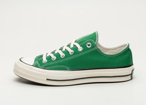 zapatillas converse hombre verde militar