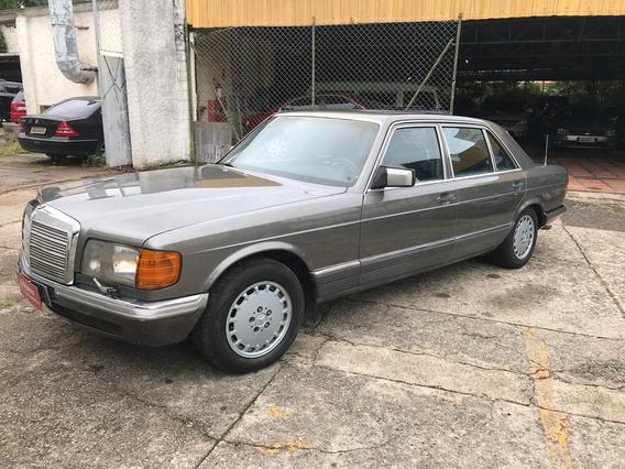 Mercedes-benz 500 Sel 1985 Placa Preta