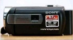 Filmadora Sony Com Projetor