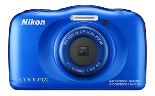 Camara Digital Coolpix W100 Acuatica 13mp Full Hd