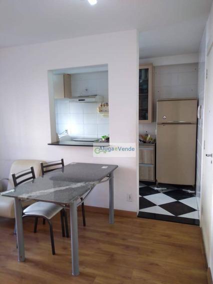 Apartamento A Venda Com 2 Dormitórios E 1 Vaga De Garagem Para Moto, 45 M² Por R$ 220.000 - Ponte Grande - Guarulhos/sp - Ap0194