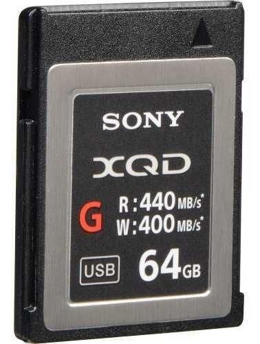 Memoria Xqd Sony 64gb Qd G Series Original Lacrado