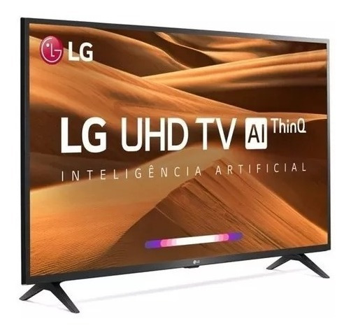 Smart Tv 43 Utra Hd 4k Lg Thinq Ai Hdr Ativo W
