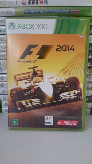 Formula 1 2014 Xbox 360 Original Seminovo Dublado Português