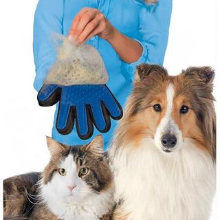Guante Removedor Quita Pelos Cepillo Mascotas Perro Gato