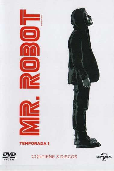 Mr Robot Primera Temporada 1 Uno Dvd