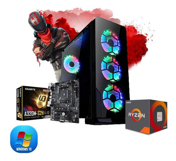 Pc Gamer Megatumi Fortkill Amd Ryzen R3 3200g, 2x 4gb, Hd 50