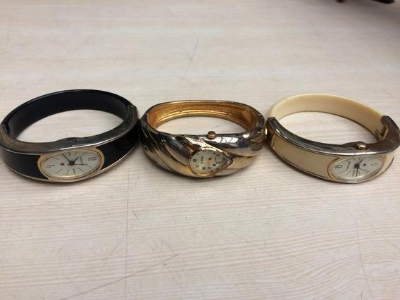 3 Relogios De Pulso Bracelete