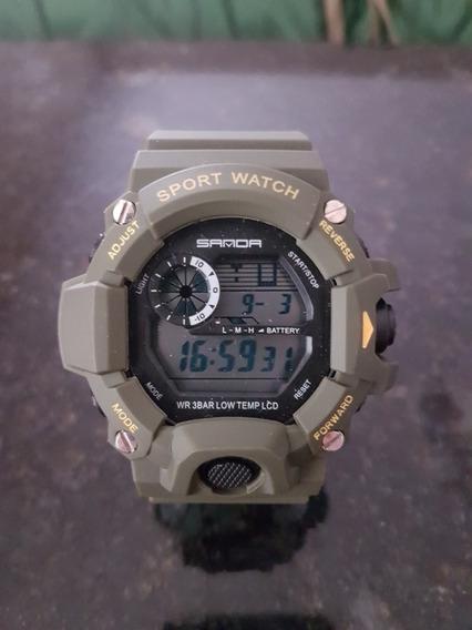 Relógio G-shock Sanda Verde Militar