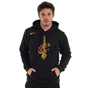 Blusão Nike Moletom Nba Cleveland Cavaliers Fleece Com Capuz