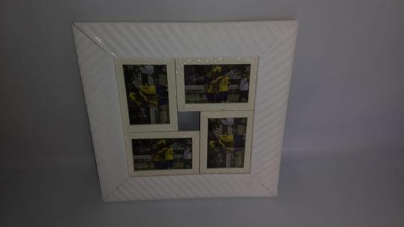 Porta Retrato 43x43cm Em Mdf Para 4 Fotos Barato Promoção