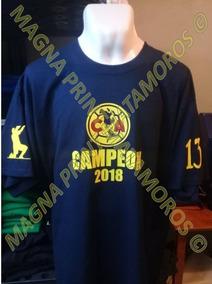 Playera America Campeon Apertura 2018 Liga Mx