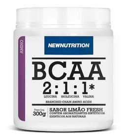 Bcaa 2:1:1 Newnutrition 300g Limão Melhor Preço!