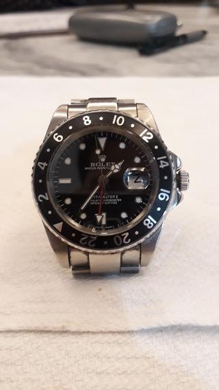 Replica Relógio Rolex Gmt Master 2(possui Pulseira Ajutavel)