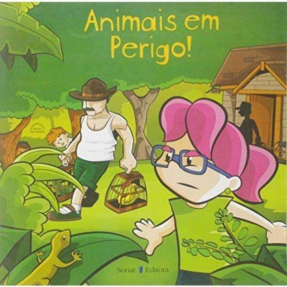 Livro Animais Em Perigo