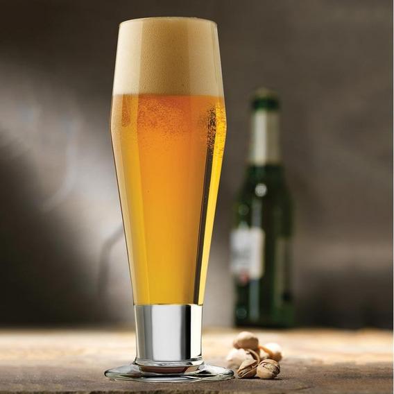 Set 4 Vasos Largos Cerveza Clas Pilsner Importado Usa Libbey