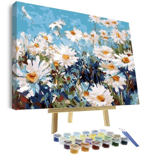 Vigeiya Pintura Al Oleo De 16.0 X 20.0in Por Numeros Par