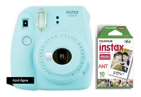 Câmera Instax Mini 9 + Filme 10 Novas Cores Entrega + Rápida