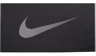 Toalha Esportiva Anthracite Preto Nike Nit001 35x80 Cm