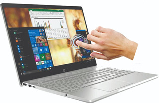 Notebook Hp Intel I5 8 Gen Quadqore 15.6 Touch 12g 1tb Win10