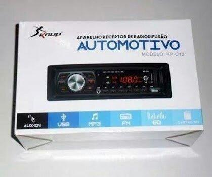 Aparelho Receptor De Radiodifusão Knup C/ Bluetooth