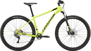 Bicicleta Cannondale Trail 4 Aro 29 Tam M 11v Amarela