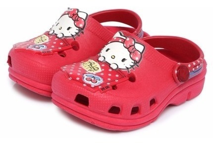 Babuche Plugt Hello Kitty - Retro/melancia