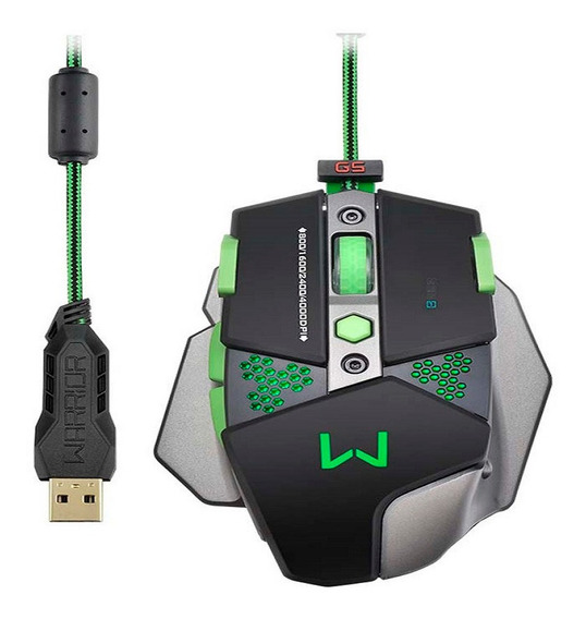 Mouse Gamer Warrior (mo249)