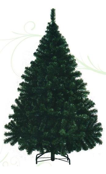 Árbol De Navidad Montañes Deluxe 1.3mts Base Metálica