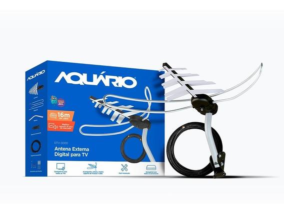 Antena Externa Aquário Direto Da Fábrica Envio Imediato + Nf