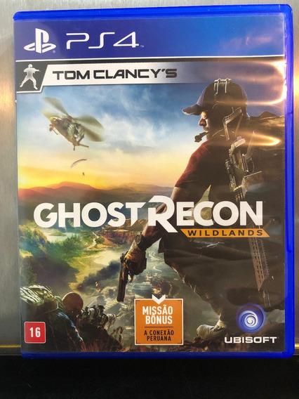 Jogo Tom Clancys Ghost Recon Wildlands Em Português (br).