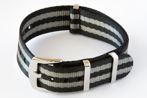 Pulseira Nato Premium Seat Belt Bond 20 Ou 22 Mm