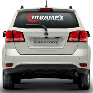 Kit 3x Adesivos Taramps Carro Som Automotivo 70cm A485