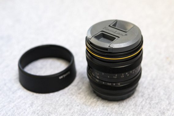 Lente Kamlan 50mm Para Sony E-mount