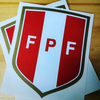 Stickers Federacion Peruana De Futbol Peru Mundial Fpf Mde
