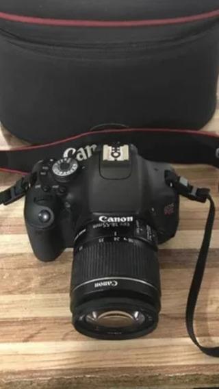 Canon T3i Com Lente 18-55mm E Bolsa