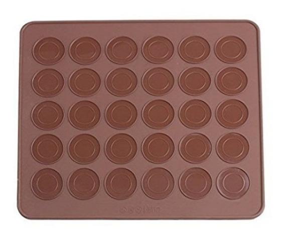 Placa De Silicona Para Macarons 20x30 / Lauacu