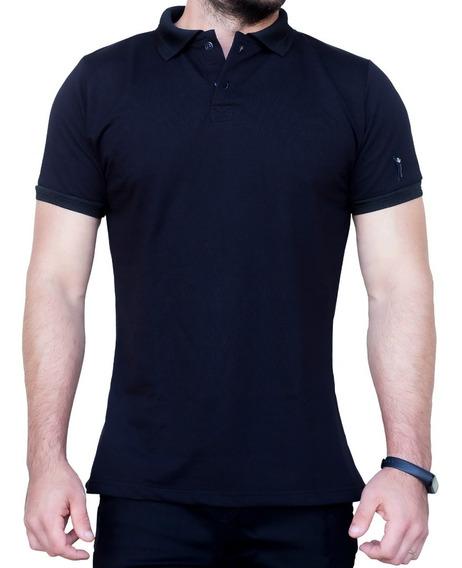 Camisa Polo Com Botão Gola Polo Camisa Masculina Com Colarin