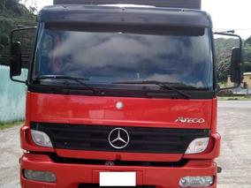 Mb 2425 Atego Truck Baú Ano 2010