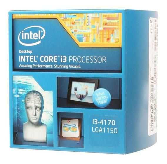 Core I3 4170 Lga 1150 3.70 Ghz 3mb Testado Box Com Garantia!