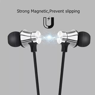 Fone De Ouvido Magnético Bluetooth Estéreo A Prova D