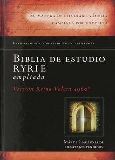Biblia De Estudio Ryrie Version Reina Valera 1960 Parta Dura