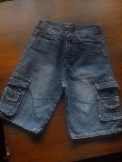 2 Bermudas Jeans Talla 8