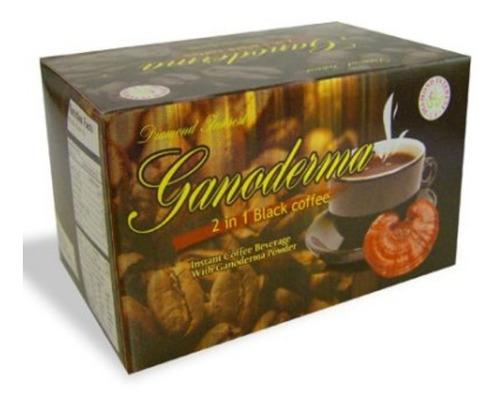 Ganoderma 2 En 1 Café Negro Caja 20 Sobres Gano Café