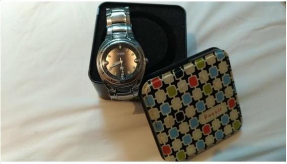 Relógio Importado Original Fossil Blue Am-3752