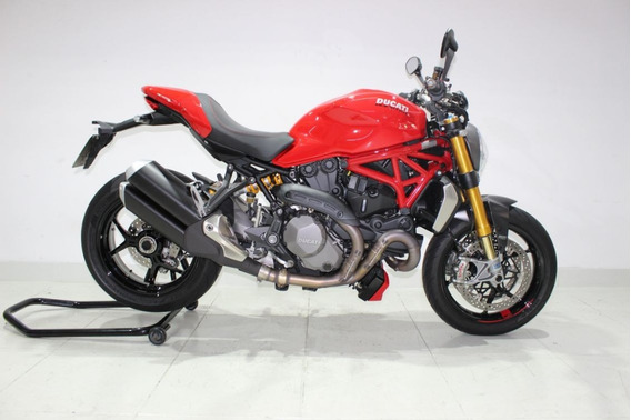 Ducati Monster 1200 S 2018 Vermelha